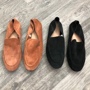 A New Day suede slip on loafers